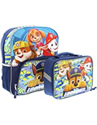 Paw Patrol 14 inch Backpack and Lunch Box Set