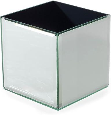 Amazon Serene Spaces Living Gatsby Mirror Strip Cube Vase Art
