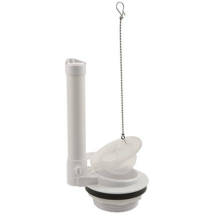 plumbcraft toilet flush valve and flapper 3 fits most toilet