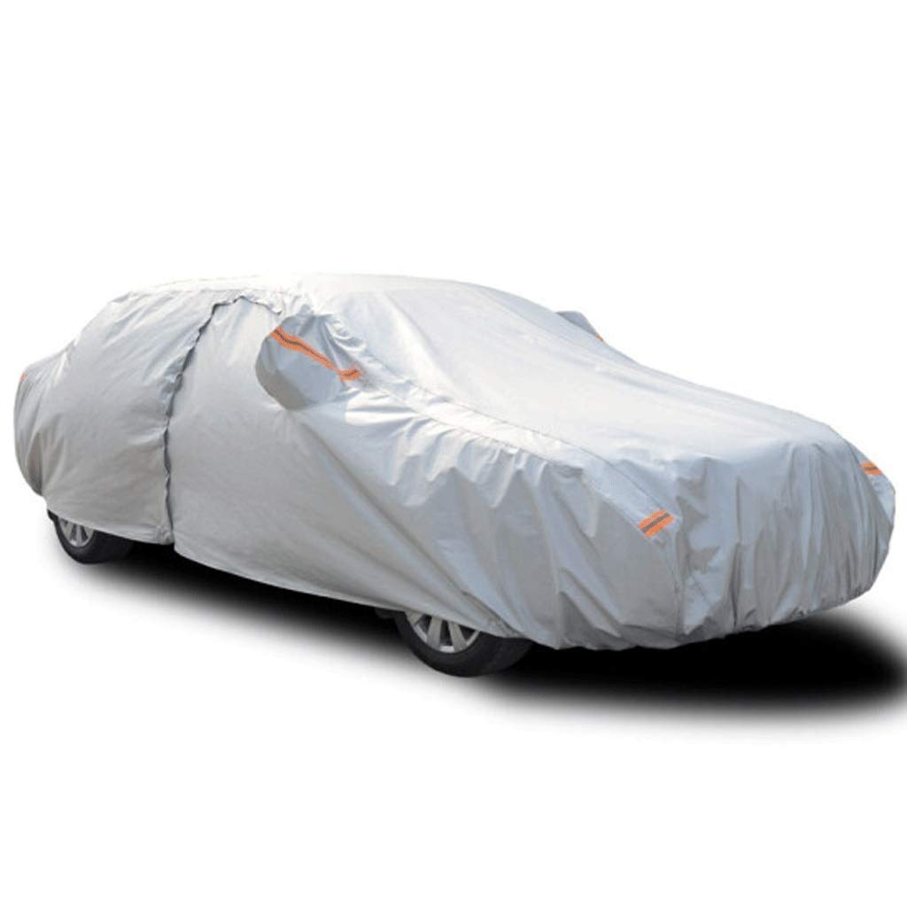 SAN_X Car Cover Mercedes-Benz S450L/S320L Sun Protection Rain and Snow Thick Cotton Velvet Car Cover S500L/Maybach Insulation Car Clothing (Size : S450L)