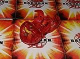 BAKUGAN B2 BAKUCLEAR NEW LOOSE PYRUS RED TRANSLUCENT DUAL ELFIN