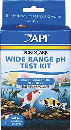 Mars Fishcare North America 160 Liquid PH Pond Test Kit - Quantity 12