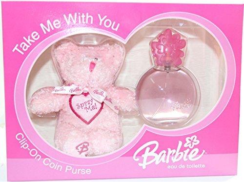 - Barbie Gift Set 2pcs.[2.5 Fl. Oz. Eau De Toilette Spray + Teddy Bear]girl