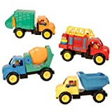 : We Do The Work Truck Set (Set of 4)