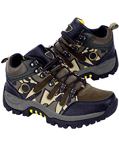 Menschwear Men's Outdoor Camouflage Hiking Shoes Lightweight Breathable Winter Shoes Green-tx319 3Qj0Z