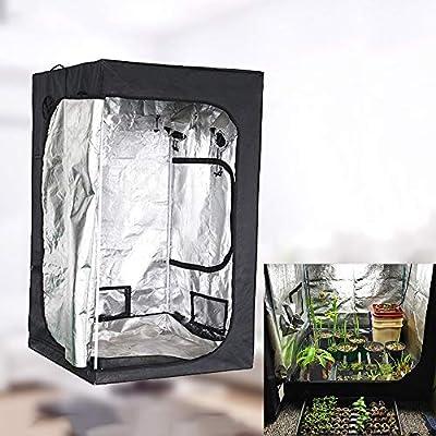 Wzz Grow Tent Hidroponía Grow Tent Caja De Cultivo Interior Invernadero Tienda De Cultivo Gabinete De Cría, 200 X 200 X 200CM: Amazon.es: Hogar