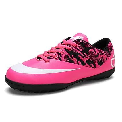 YAYADI Zapatillas De Fútbol Profesional Zapatos para Niños Varones De Fútbol Botas De Fútbol Zapatillas De
