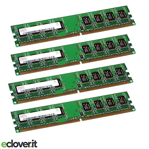 Hynix Desktop Memory 1GB 2Rx8 PC2-5300U-555-12 PC2-DDR2 667MHz HYMP512U64CP8-Y5