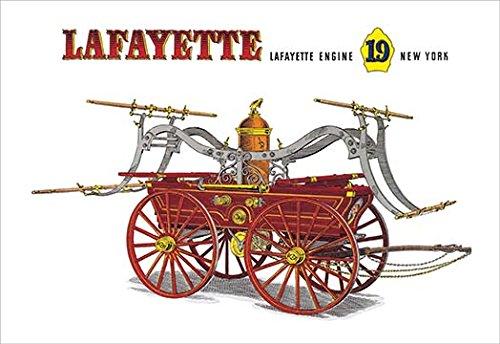 Lafayette: Lafayette Engine 19 New York Fine Art Canvas Print (20