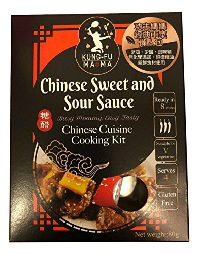 (SRH KUNG FU MAMA, Chinese Sweet & Sour Sauce, Chinese Cuisine Sauce)