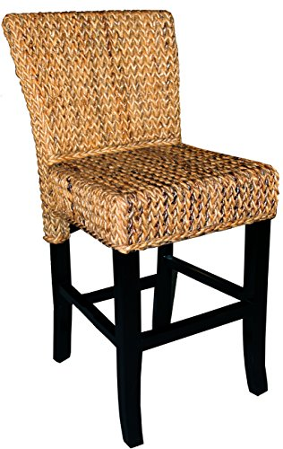 "Abaca Copa Cabana Counter stool 24"" Made By Chic Teak"