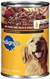 Pedigree Meaty Ground Dinner with Chopped Beef, 22-Ounce (Pack of 12), My Pet Supplies