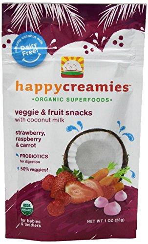 Happy Creamies Baby Strawberry Raspberry