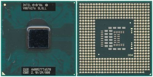 T6570 Cpu - SLGLL Intel Mobile Core 2 Duo T6570 2.1GHz 2M 800FSB sP LP