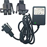 12 Volt Charger Works with Yamaha Raptor 700R Toyota FJ Cruiser MegaTredz Motion Trendz, 12V Battery Charger B-Type Plug Fit Ride On Peplacement