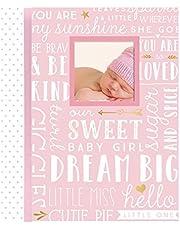 Lil' Peach Dream Big Wordplay Baby Memory Book, Pink (92270)