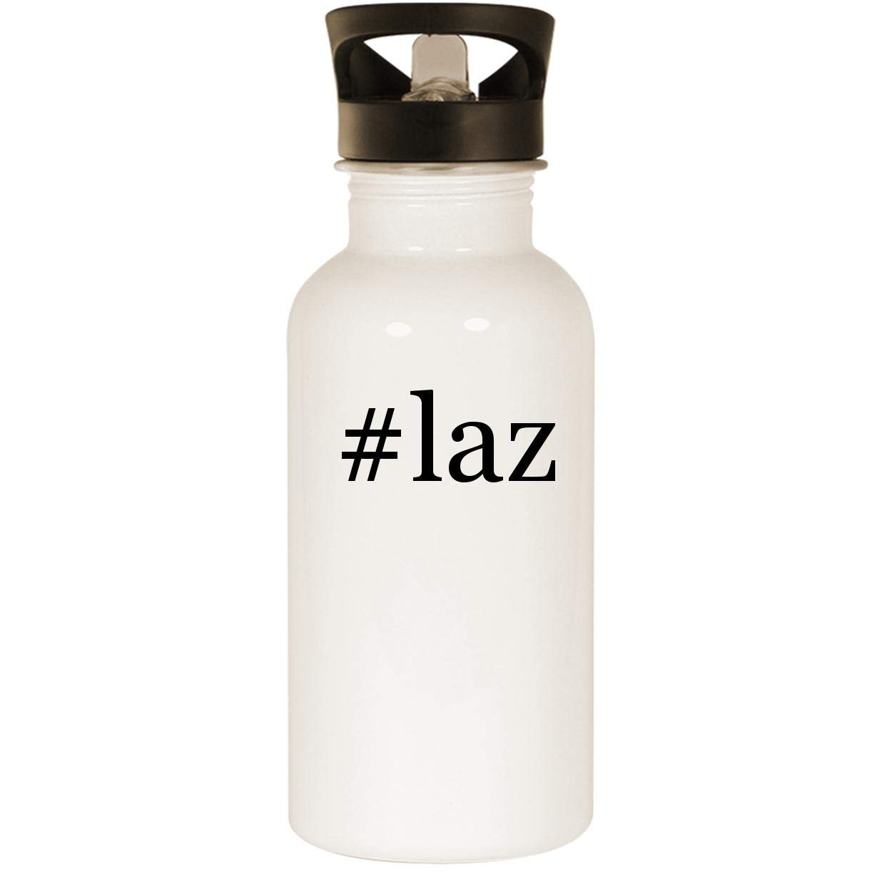 #laz - Stainless Steel 20oz Road Ready Water Bottle, White