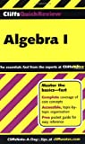 img - for CliffsQuickReview Algebra I (Bk. 1) book / textbook / text book