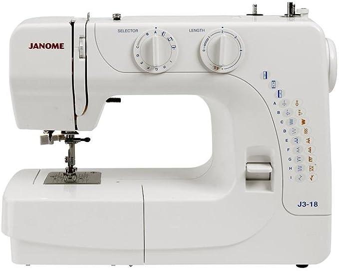 Janome J3-18 - Máquina de Coser: Amazon.es: Hogar
