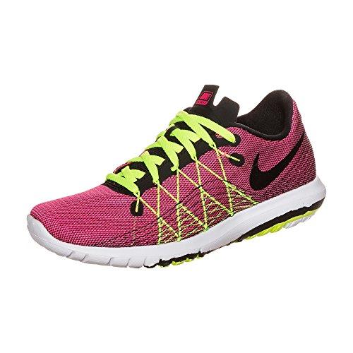 Nike Flex Fury 2 (Gs), Zapatillas de Running para Mujer Rosa (Hyper Pink / Black-Volt-White)