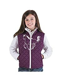 Cowgirl Hardware Eggplant Filly Quilted Vest