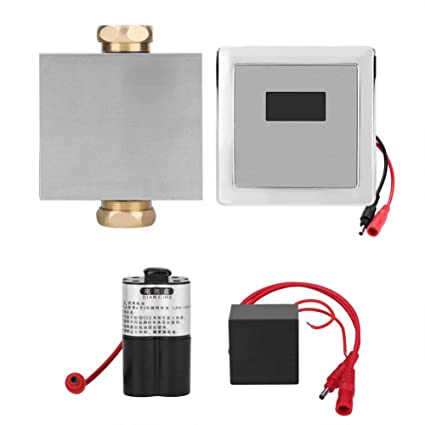 Amazon.com: FTVOGUE Urine Infrared Sensor Urinal Automatic Stool Flush Valve Copper Valve Bathroom: Home & Kitchen