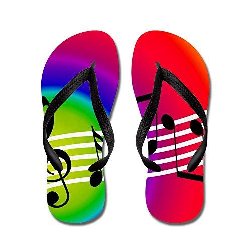 Musica Da Cafepress - Infradito, Sandali Infradito Divertenti, Sandali Da Spiaggia Neri