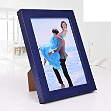 Creative children wooden photo frame set up wall mounted photos frame F 10.2x15.3cm(4x6inch)