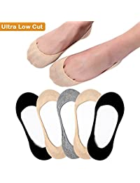 Ultra Low Cut Liner Socks Women No Show Non Slip Hidden...