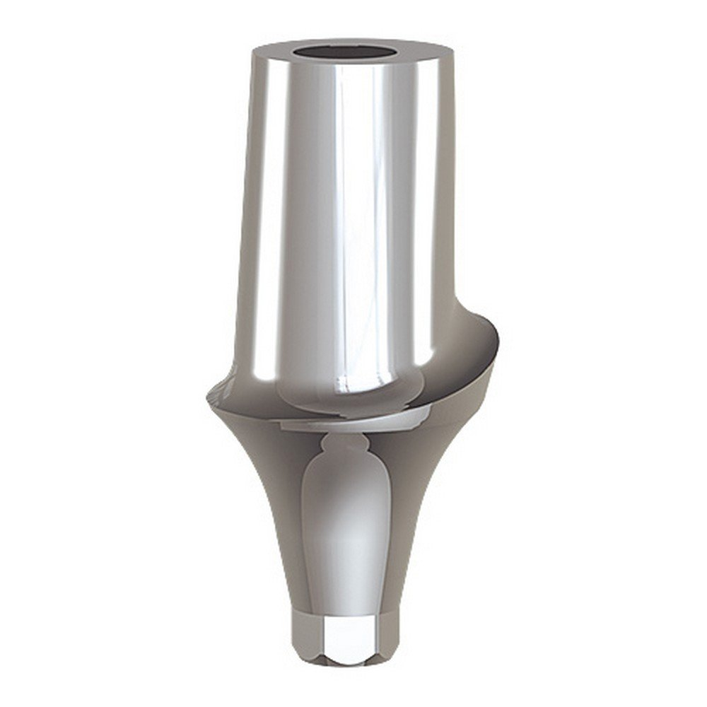 Paltop 40-72063 Conical 3 mm Straight Anatomic Abutment Ti, Concave, 6 mm Diameter
