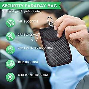 2 Pack Faraday Bag | Car Key S...
