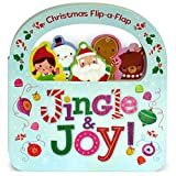 Jingle & Joy: Christmas Flip-a-Flap Board Book