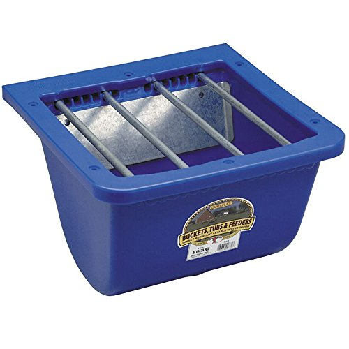 (LITTLE GIANT 464074 Pf25 Foal Feeder, 9 Quart, Blue)