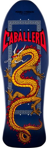 "Powell-Peralta Skateboards Stevie Caballero ""Chinese Dragon"" Navy 10.0"" Deck"