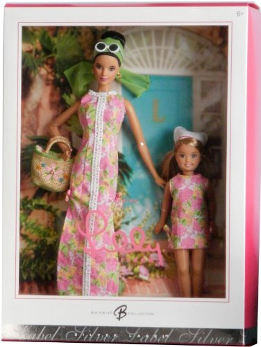 (Barbie Collector Silver Label Collection by Lilly Pulitzer - Only 50,000 Created Worldwide)