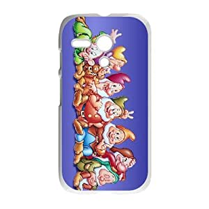 Disney Snow White And The Seven Dwarfs Character Motorola G Cell Phone Case White DIY Ornaments xxy002-3683101
