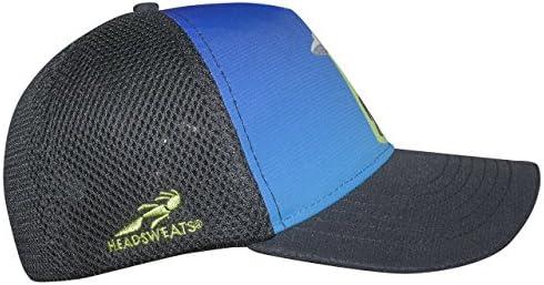 Blue Headsweats Trucker Flying Squatcher 5-Panel Hat One Size 7755 401sFlySquatch