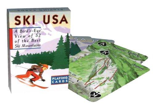 (Ski Usa Playing Cards)