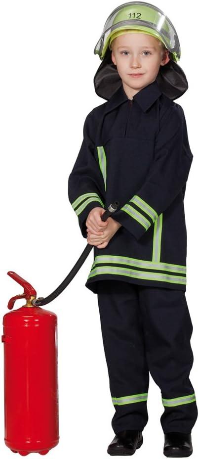 Disfraz infantil de bombero traje de combate los bomberos de ...