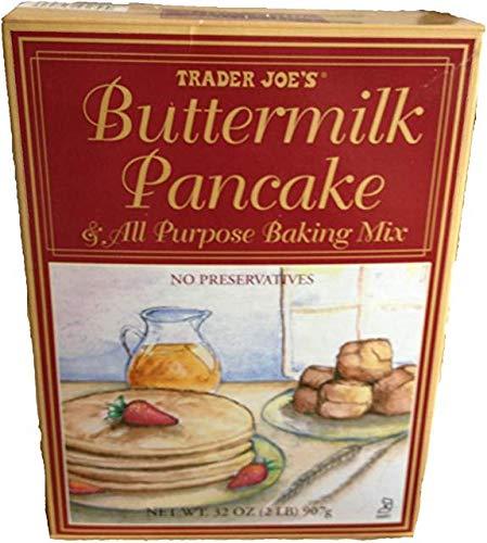 Trader Joe's Buttermilk Pancake & All Purpose Baking Mix 32 oz (Pack of 3) by Trader Joe's