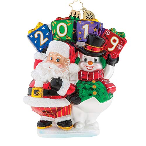 Christopher Radko Best Friends Forever 2019 Dated Christmas Ornament (Best Friends Forever Ornaments)