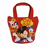 Officially Licensed Disney Mini Handbag Style Coin Purse - Goofy, Mickey, and Donald by Mirage