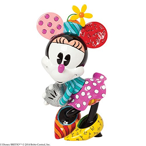 Enesco Disney by Britto Minnie Mouse Figurine, 8.375 in
