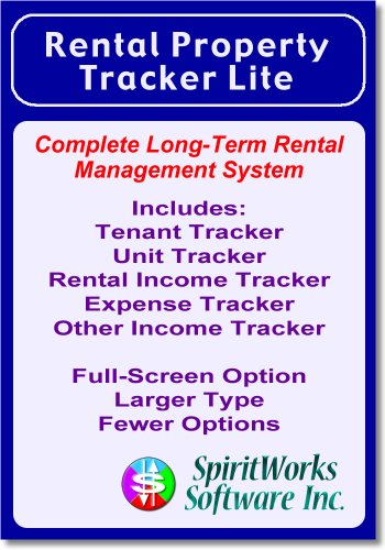 Rental Property Tracker Lite [Download] by SpiritWorks Software Inc.