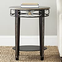 Safavieh American Homes Collection Debra Dark Brown Side Table
