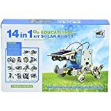Techhark 14 in 1 Educational Solar Robot Kit toys for kids