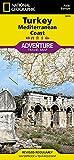Turkey: Mediterranean Coast (National Geographic Adventure Map (3019))