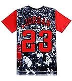 Doxi Jordan T Shirt 23 Printed 3D Pullover Hipster Clothing Streetwear Punk Tees Shirts