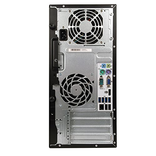 HP 6200 Pro Mini Tower Intel i3-2100 3.1GHz 4GB RAM 320GB HDD Win 10 Home DVD-RW (Certified Refurbished) by HP (Image #3)