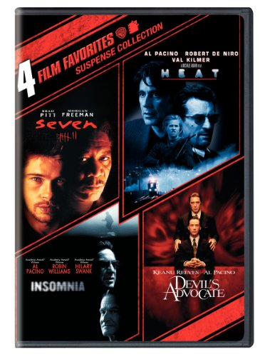 4 Film Favorites: Suspense (Devil's Advocate, Heat, Insomnia, Seven) (Devil Films Dvds)